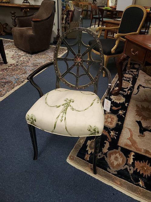 Charminy Painted Pinwheel Chair
