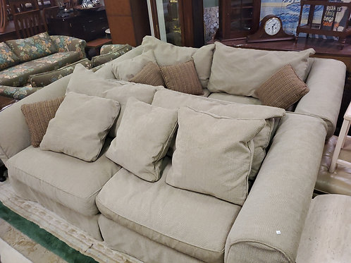 Matching Set of Beige Sofas