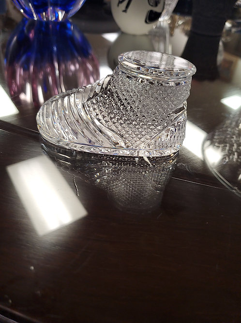 Waterford Glass Foot