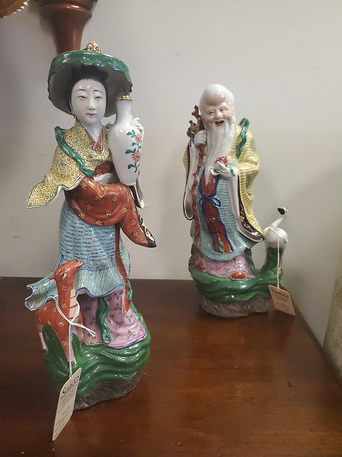 Pair of Asian Figures