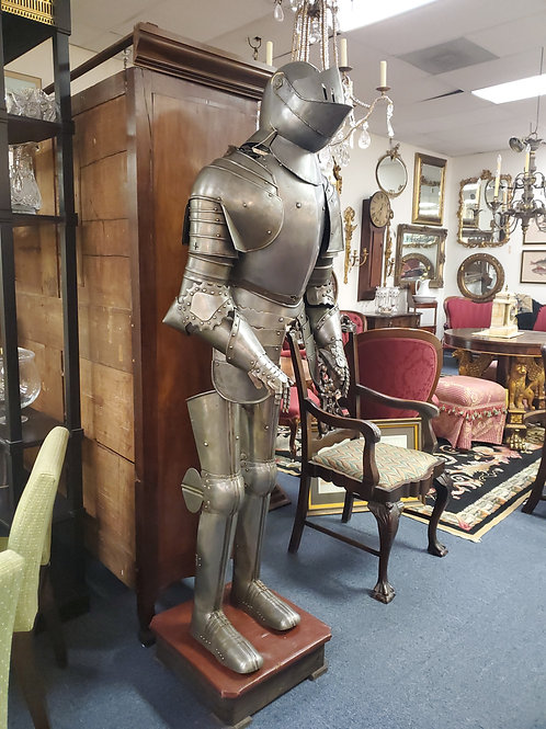 Hand Made Suit of Armour Spanish Circa 1940's