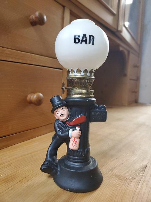 1970s Vintage Charlie Chaplin Oil Lamp Bourbon Street