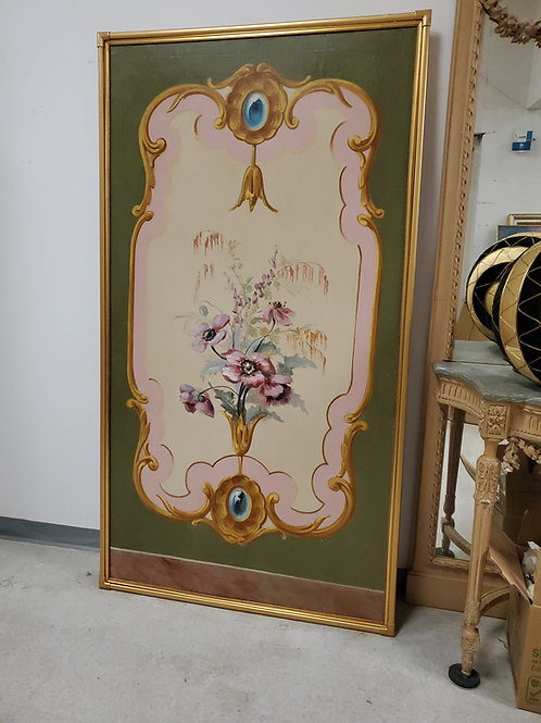 Hand Painted Art on Canvas Fine Frame