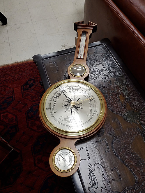 Thermometer/Barometer Airguide