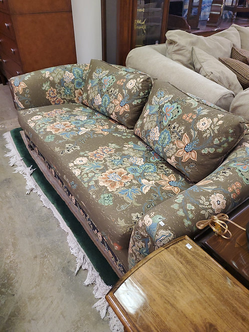 Western Furniture Company Matching Set of Green Sofas