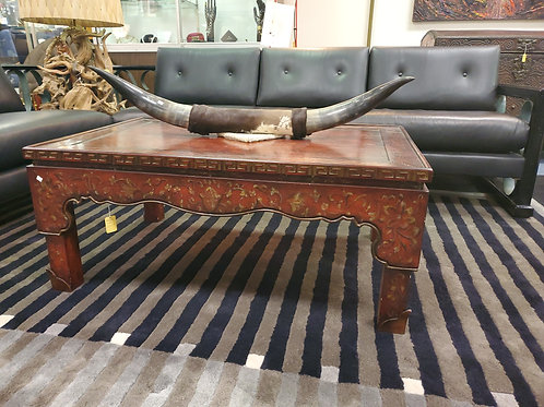 Red Baker Coffee Table