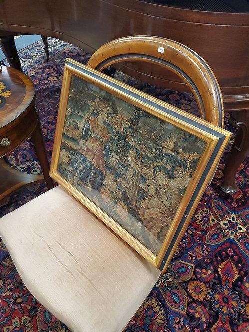 17th Century Tapestry Frsgment Framed