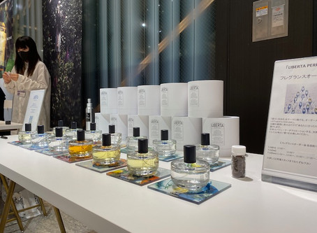 FRAGRANCE GALLERY - 阪急 MEN'S TOKYO にて