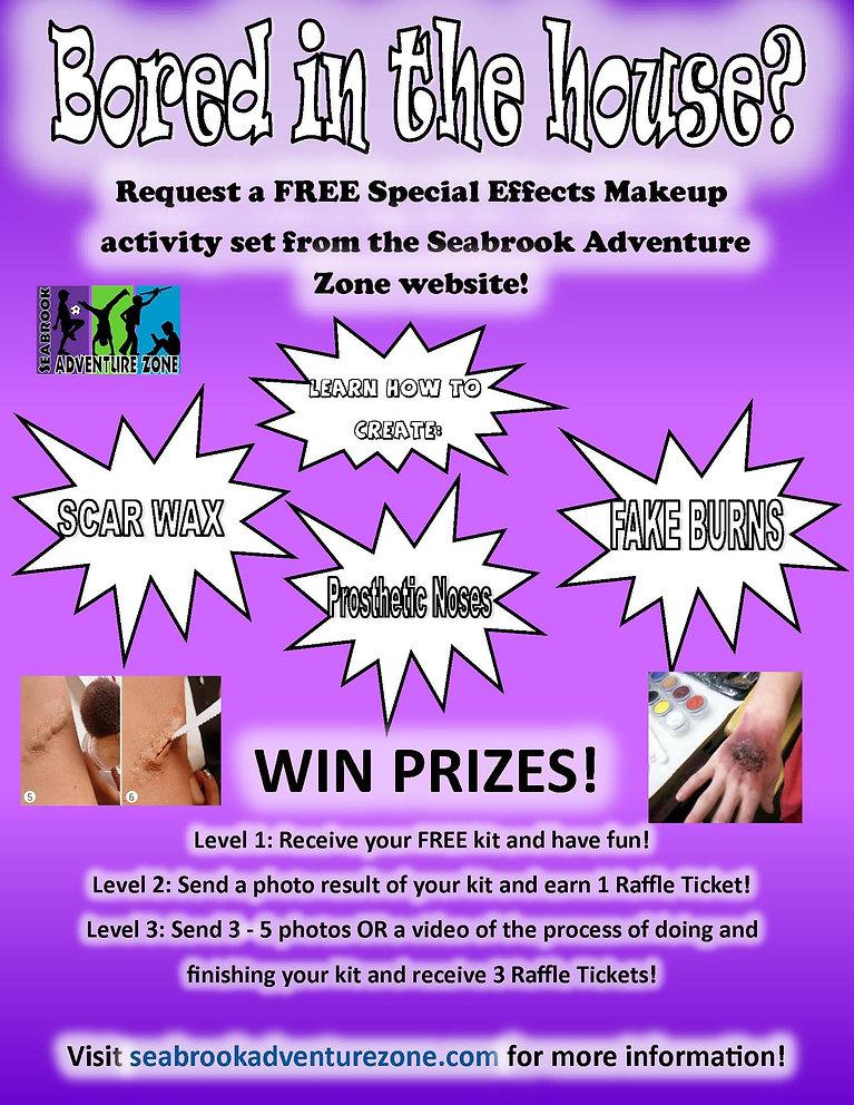 SFX Makeup Flyer