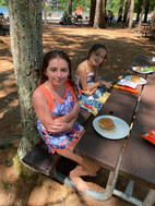 Enjoying our cookout at State Park!