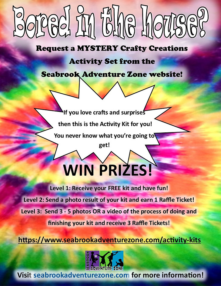 Mystery Crafty Creations Flyer