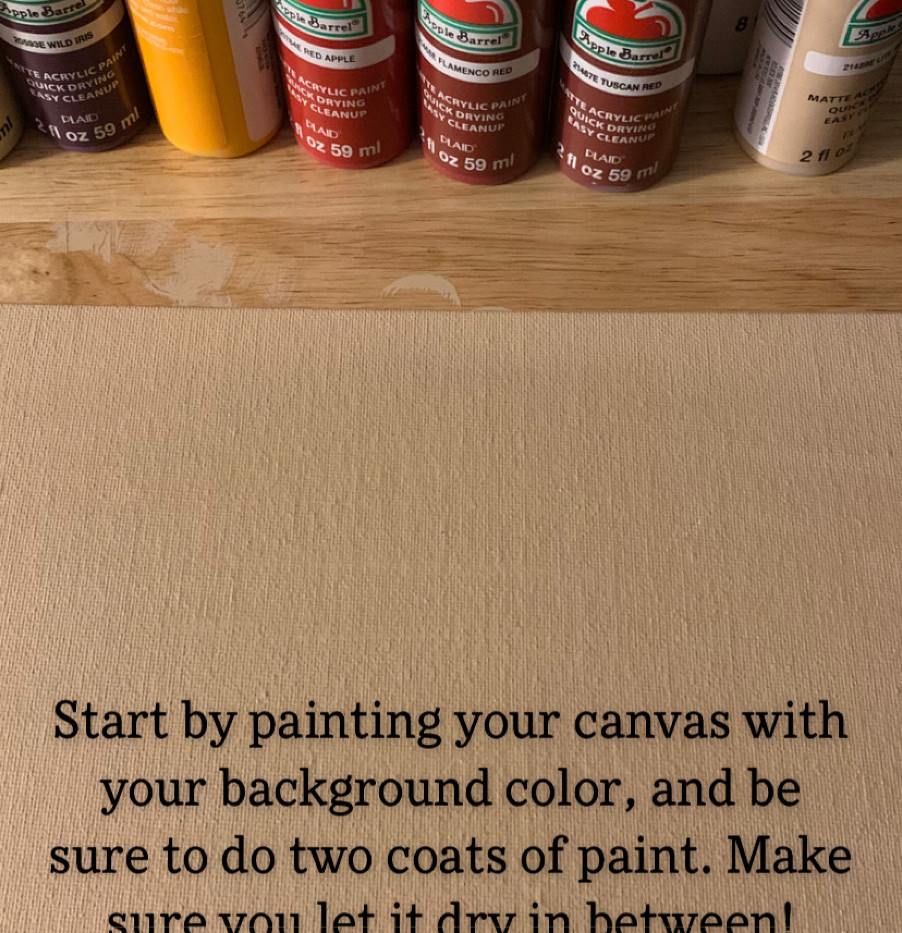 GET YOUR PAINTS READY