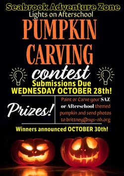 Lights On Afterschool Pumpkin Contest