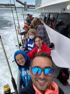 Deep Sea fishing selfie!
