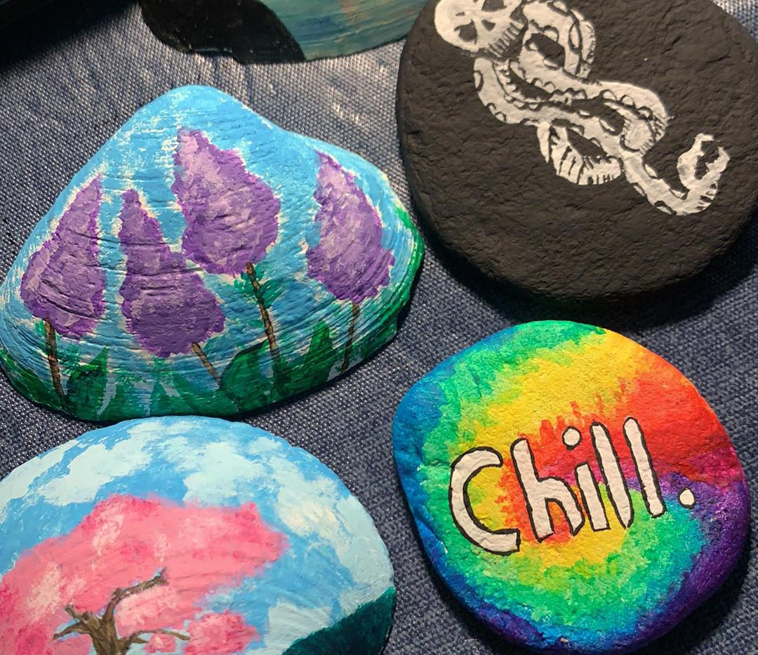 Painting Sea Shells!
