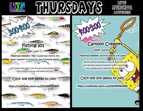 Thursday Zoom