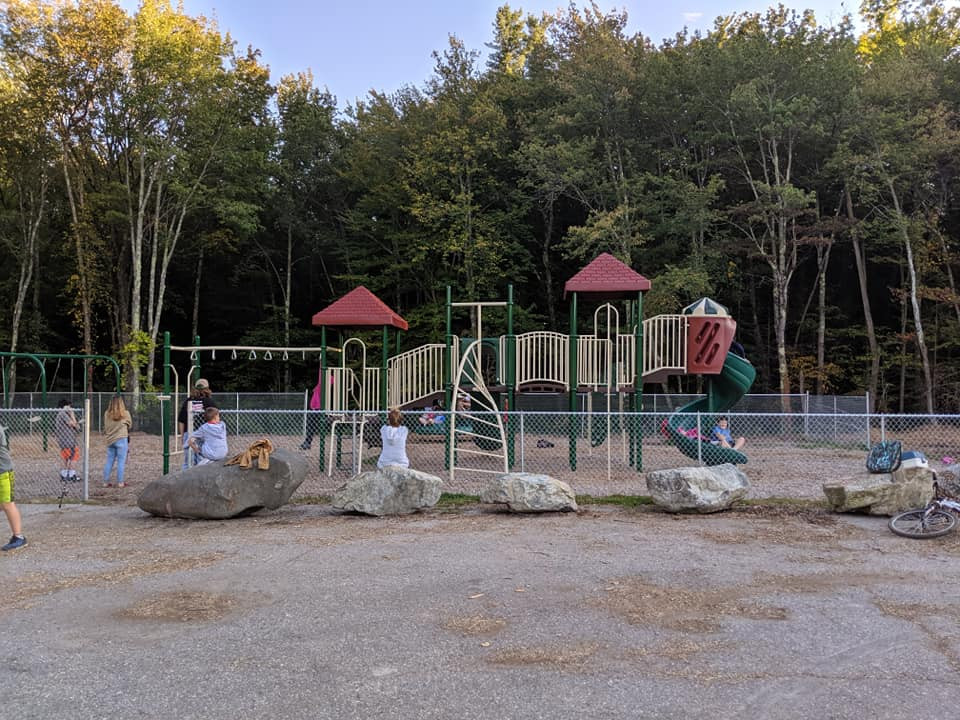 Play at local play ground
