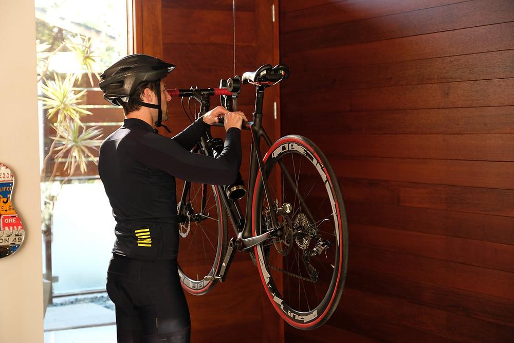 Kradl Bike Rack, Biek Storage