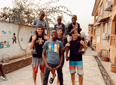 What Happens When 4 College Age Guys Take a Trip to Sierra Leone?