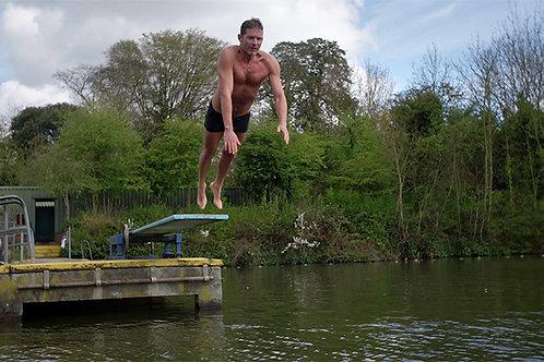 Men's Pond 'Bouncer' Poster (A3)