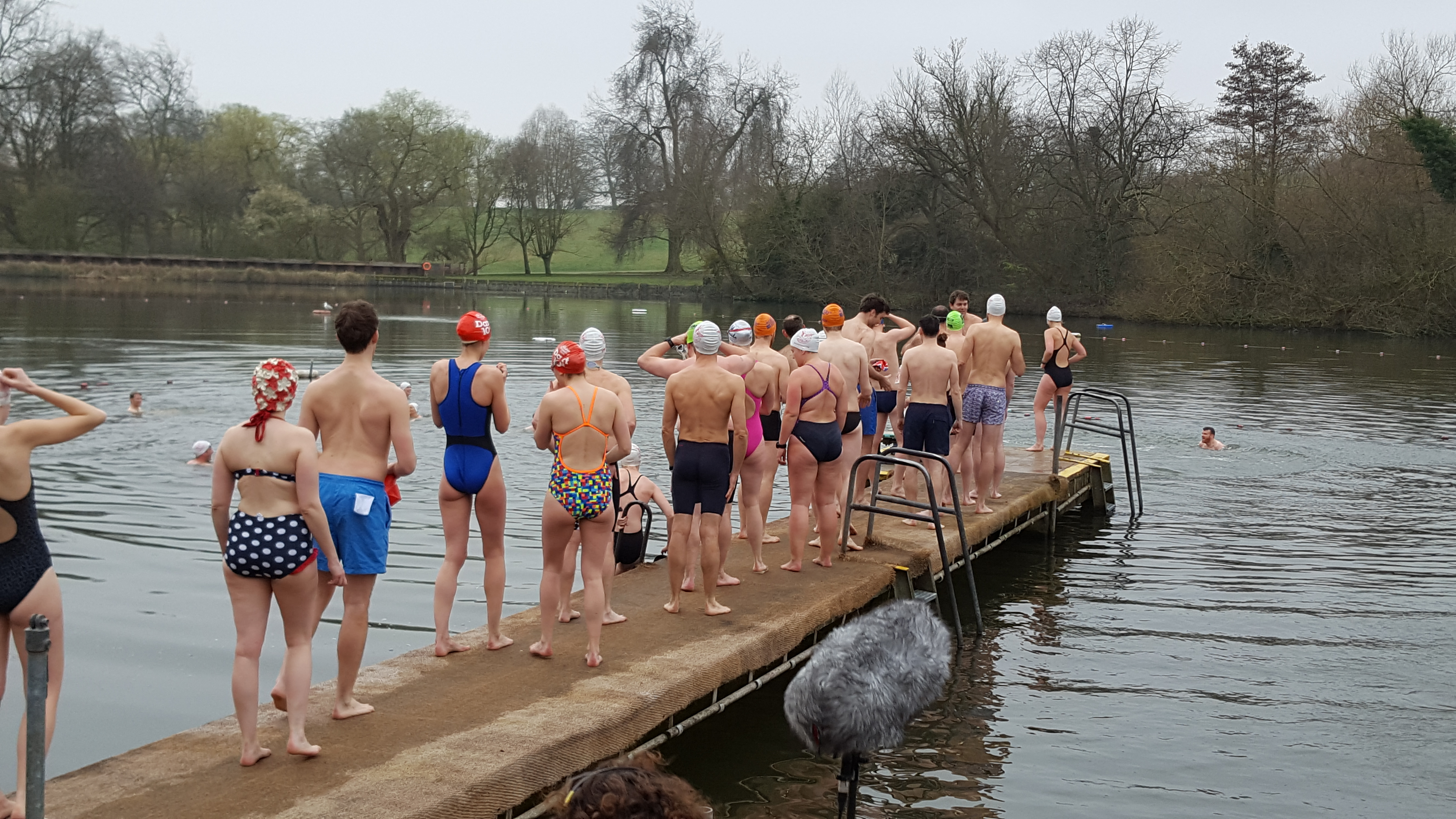 The Swimmers – Highgate Men's Pond