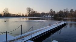 Highgate Men's Pond –winter