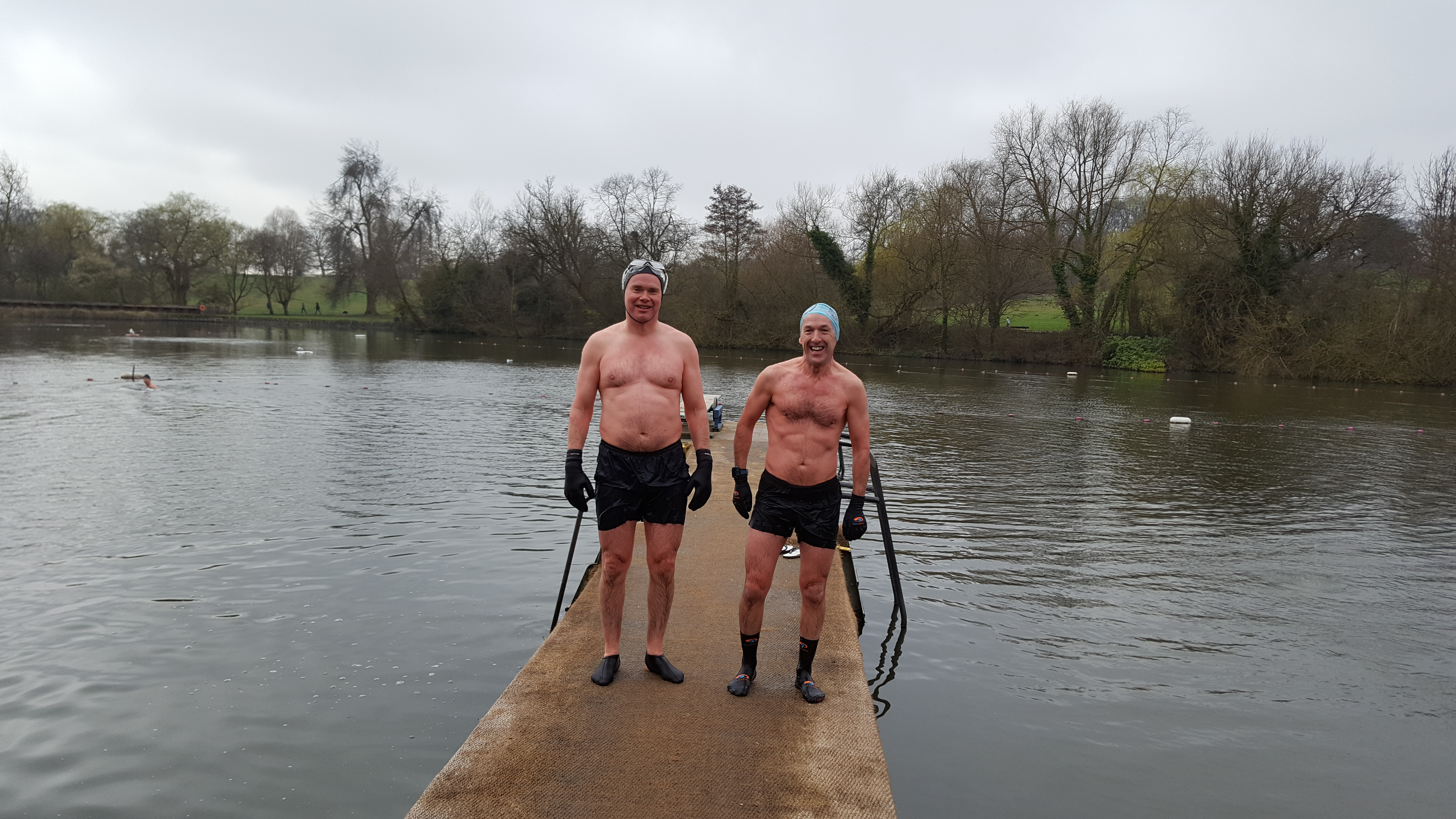 David and Jim – Highgate Men's Pond