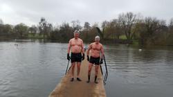 David and Jim –Highgate Men's Pond