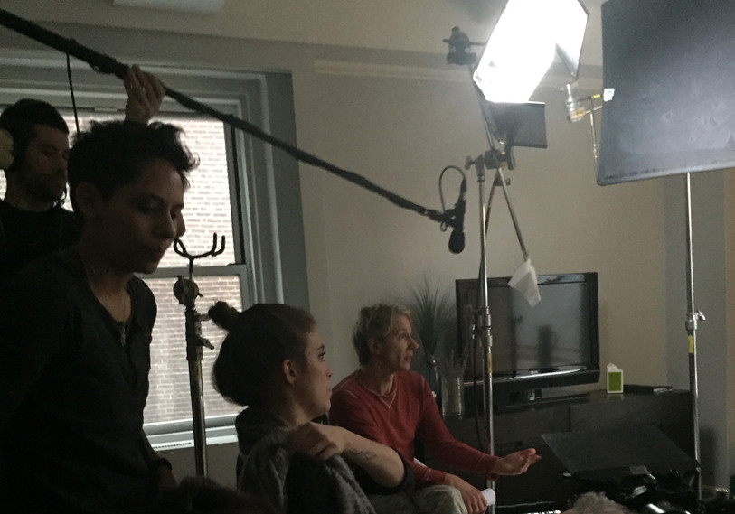 Paul on Set of For Which We Stand.jpg