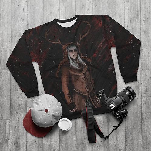 Kurah the Elk AOP Unisex Sweatshirt