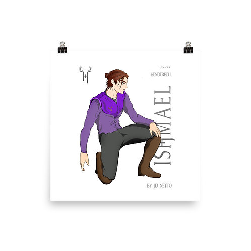 Ishmael Photo paper poster