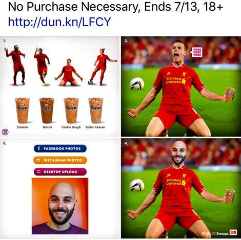 Dunkin'/Liverpool FC