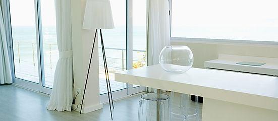 Design intérieur, coloration, plans, stores, luminaires, armoires, cuisine, salle de bains, mobilier, aménagement, matériaux, fenêtres