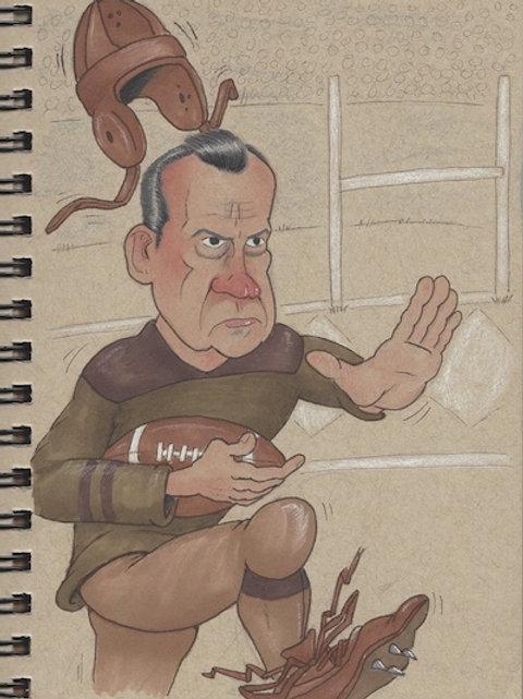 Nixon's Football Glory