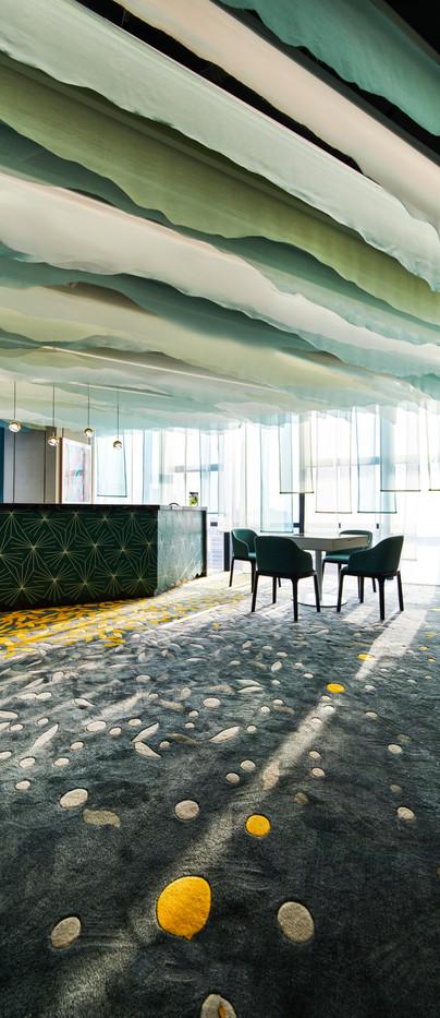 ◆坪數:216平方公尺 ◆業主:Midtex Fabric & Soft Decoration ◆空間性質:展示中心+會議廳