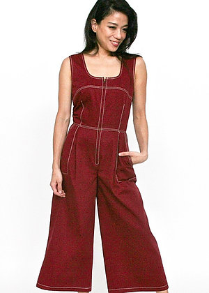 PERKY Red Jumpsuit