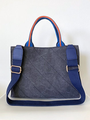 BRADY Quilted canvas bag