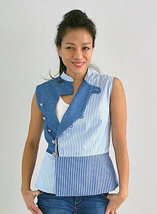 modern cheongsam top