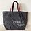 Thumbnail: ROBIN Canvas Tote Bag