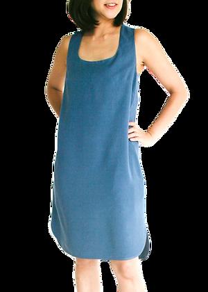 MIA Racerback Dress - Teal Blue