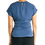 Thumbnail: EMMA Wrap Top - Teal Blue