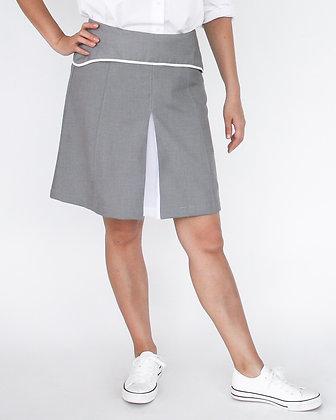DANDY Short A-Line Skirt - Grey