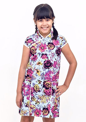 MERRY Cheongsam Dress - Floral
