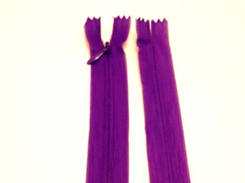 Light Purple Invisible Zip