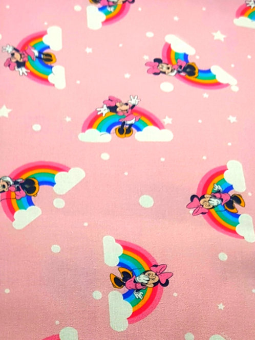 100% Cotton Minnie Mouse Disney Print