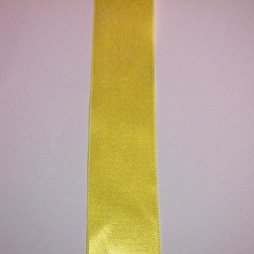Yellow Satin Ribbon (38mm)
