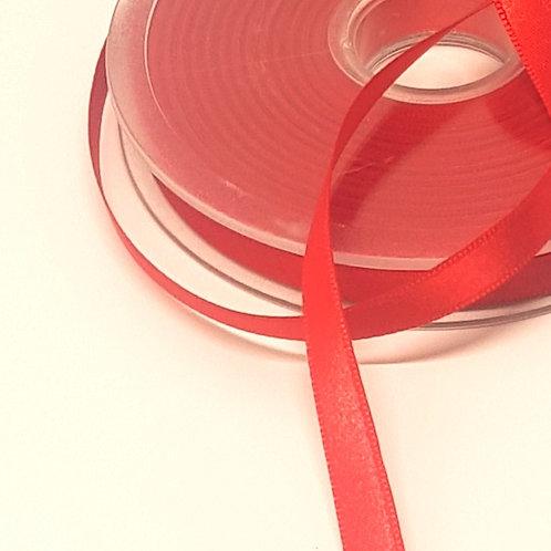 Red Satin 8mm Ribbon