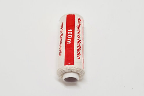100% White Cotton Thread