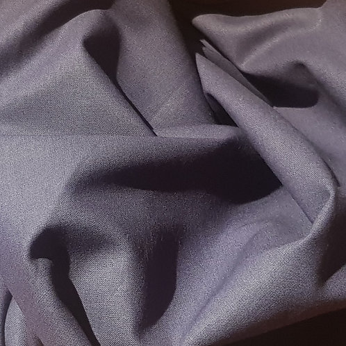 100% Plain Navy Fabric