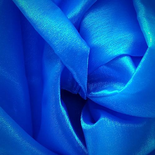 Blue Twinkle Satin